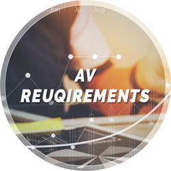 AV requirements