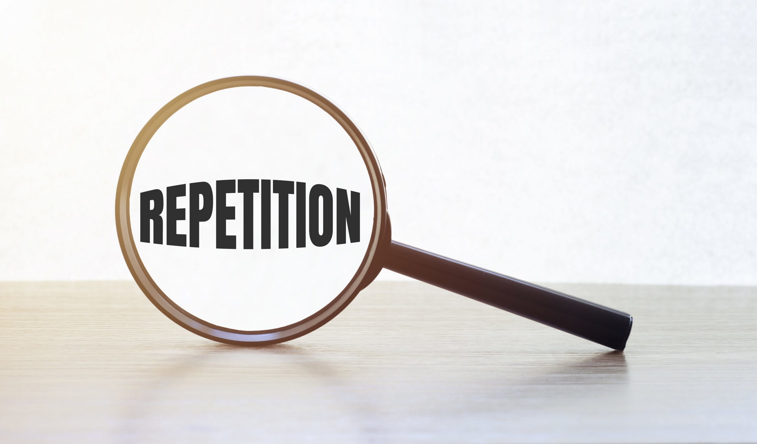 rule of repetition